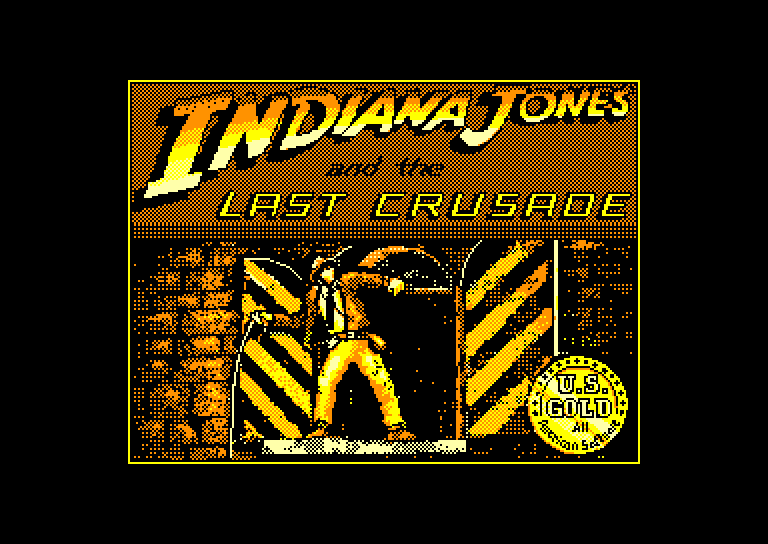 screenshot of the Amstrad CPC game Indiana Jones And The Last Crusade by GameBase CPC