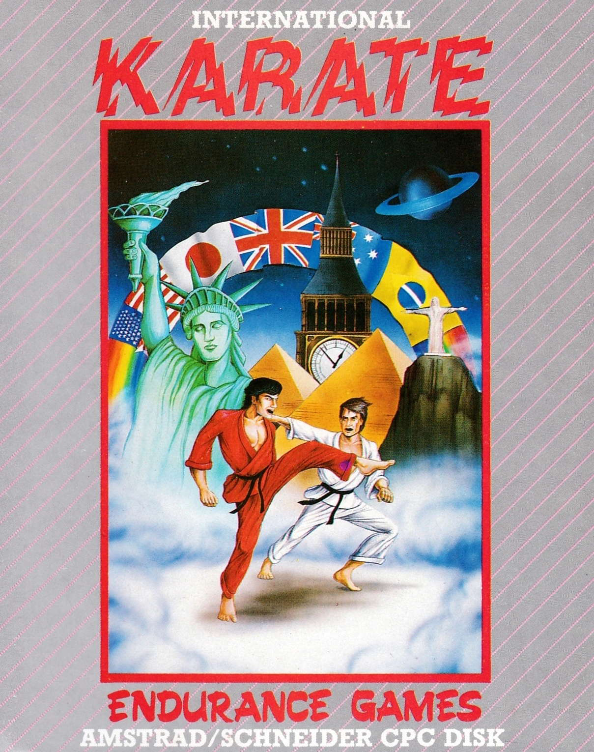 cover of the Amstrad CPC game International Karate  by GameBase CPC