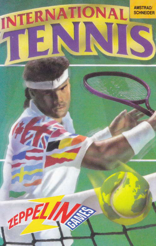 screenshot of the Amstrad CPC game International Tennis by GameBase CPC