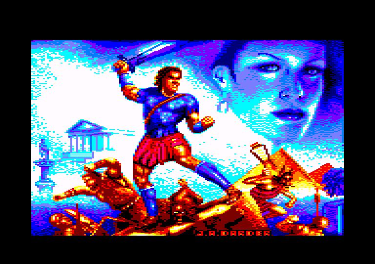 screenshot of the Amstrad CPC game Jabato (el) by GameBase CPC