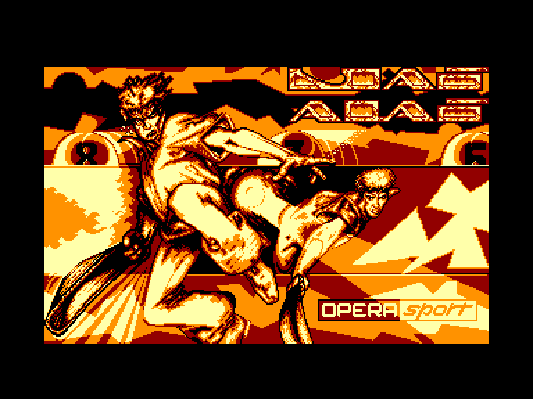 screenshot of the Amstrad CPC game Jai-alai by GameBase CPC