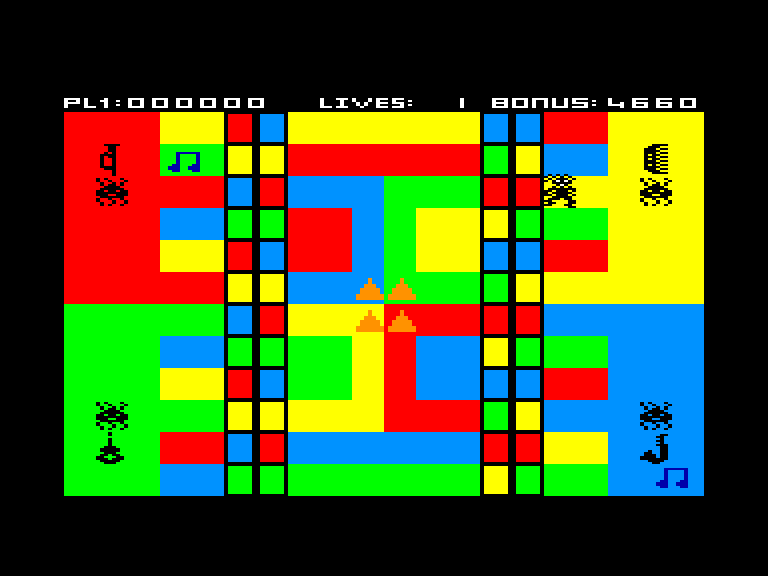 screenshot of the Amstrad CPC game Jammin by GameBase CPC