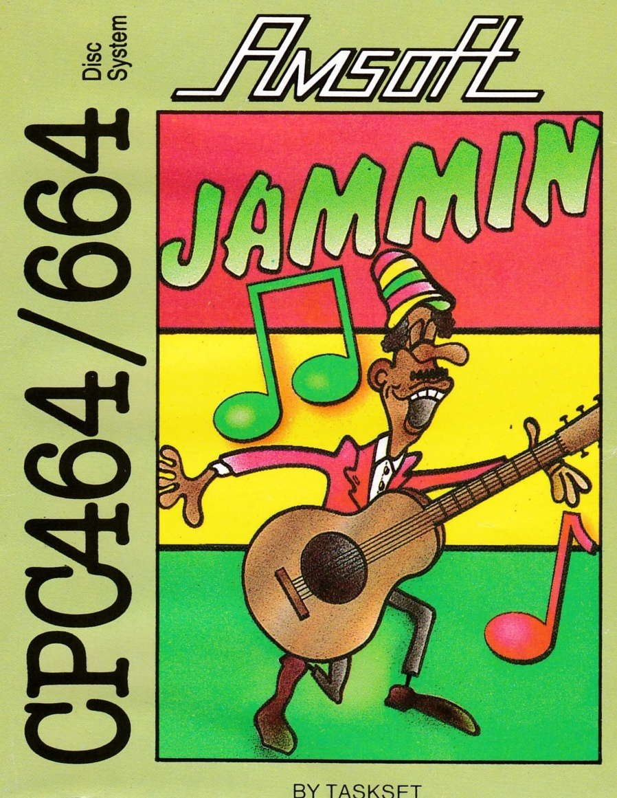 cover of the Amstrad CPC game Jammin  by GameBase CPC