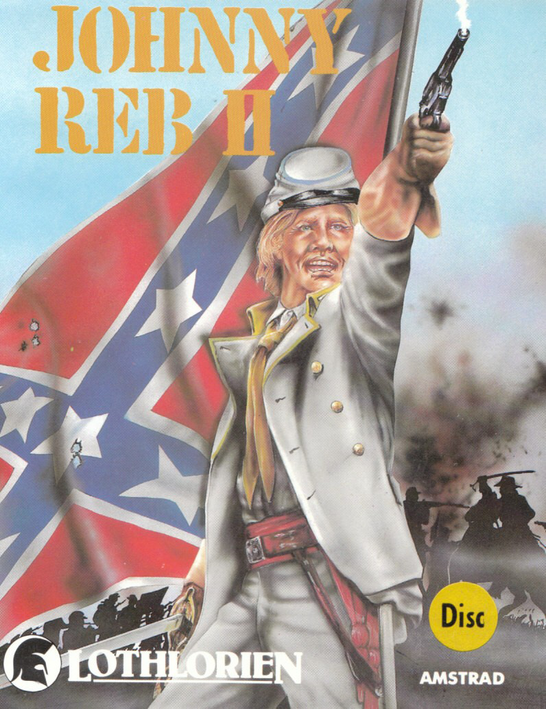 Johnny Reb II by Lothlorien on Amstrad CPC 1986