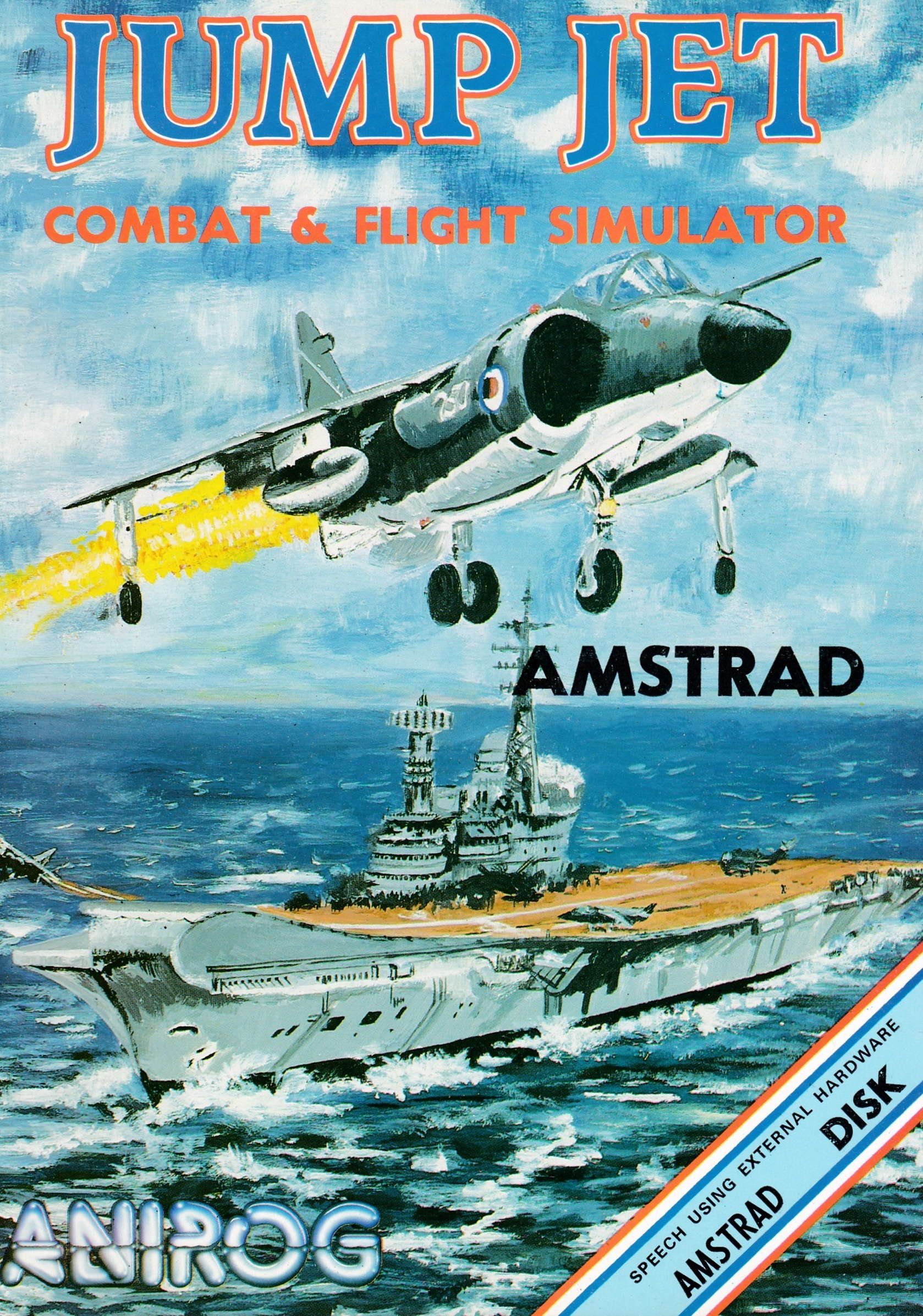 cover of the Amstrad CPC game Jump Jet  by GameBase CPC
