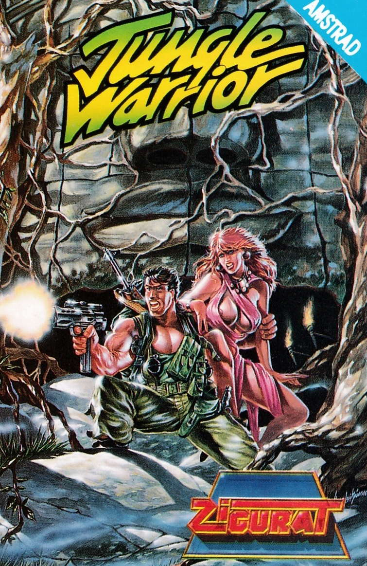 cover of the Amstrad CPC game Jungle Warrior  by GameBase CPC