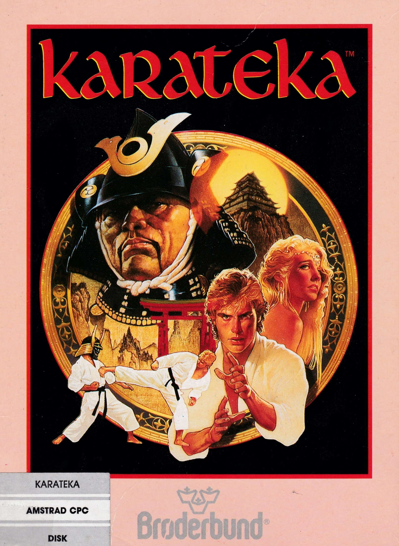 cover of the Amstrad CPC game Karateka  by GameBase CPC