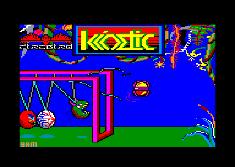 screenshot of the Amstrad CPC game Kinetik by GameBase CPC