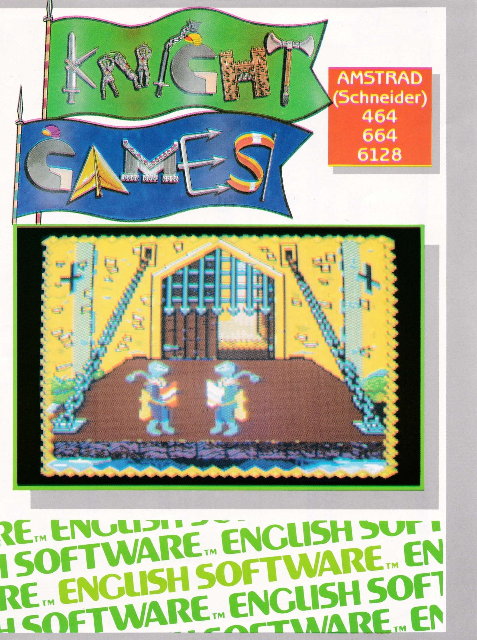 screenshot of the Amstrad CPC game Knight Games by GameBase CPC