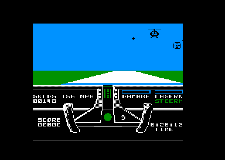 screenshot of the Amstrad CPC game Knight Rider by GameBase CPC