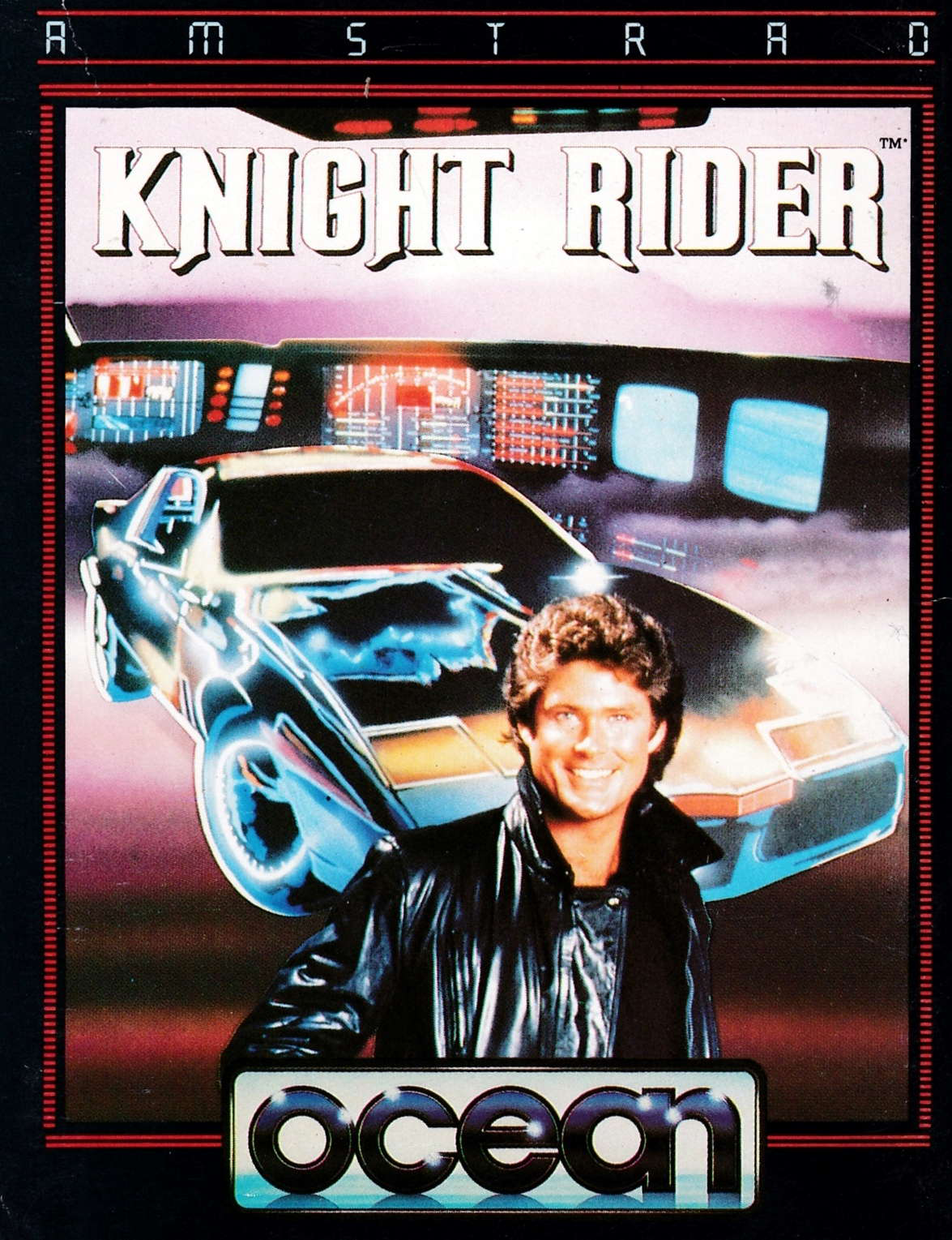 cover of the Amstrad CPC game Knight Rider  by GameBase CPC