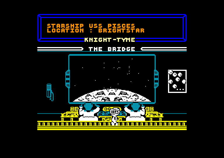 screenshot of the Amstrad CPC game Knight Tyme by GameBase CPC