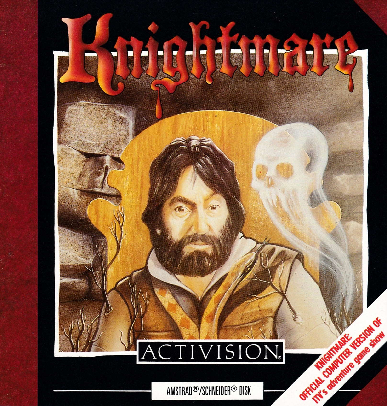 screenshot of the Amstrad CPC game Knightmare by GameBase CPC