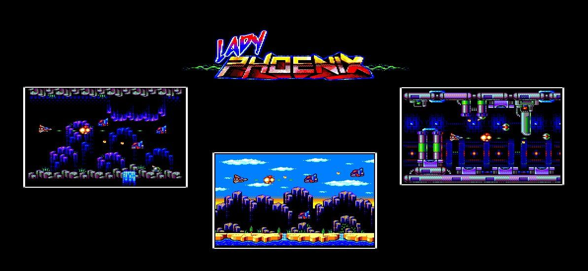Lady Phoenix, an Amstrad CPC game by 4mhz