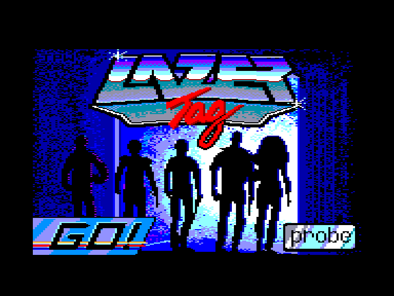 screenshot of the Amstrad CPC game Lazer tag by GameBase CPC