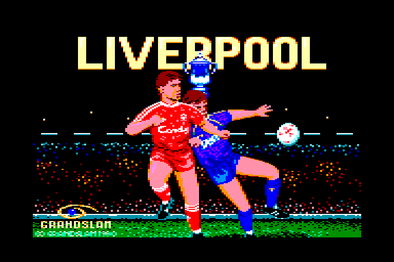 screenshot of the Amstrad CPC game Liverpool by GameBase CPC