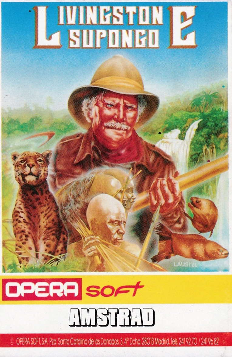 cover of the Amstrad CPC game Livingstone Supongo  by GameBase CPC