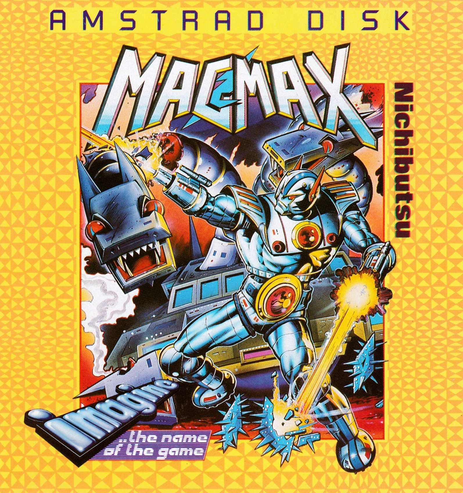 cover of the Amstrad CPC game Mag Max  by GameBase CPC