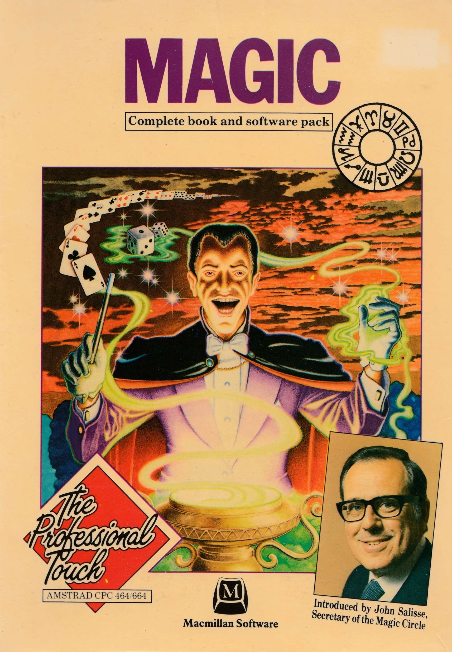 cover of the Amstrad CPC game Magic  by GameBase CPC