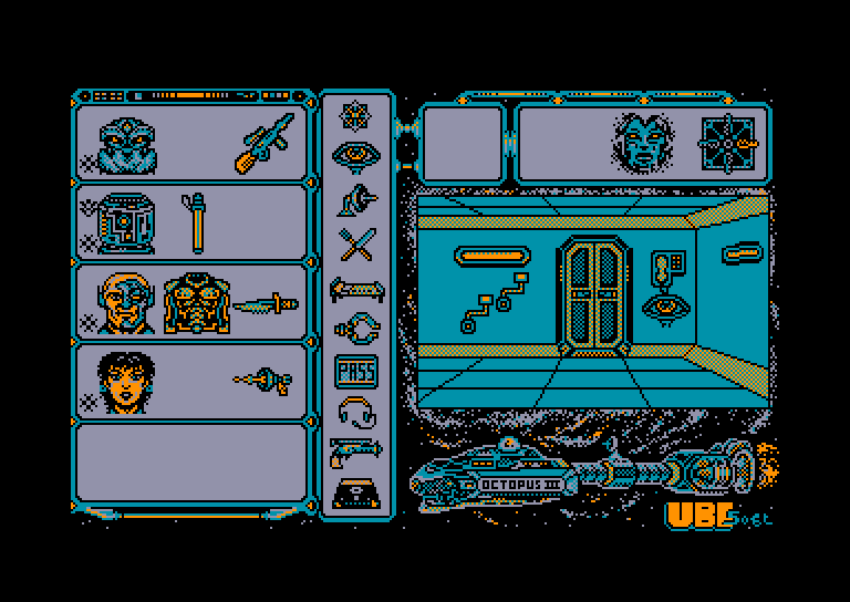 screenshot of the Amstrad CPC game Maitre Absolu (le) by GameBase CPC