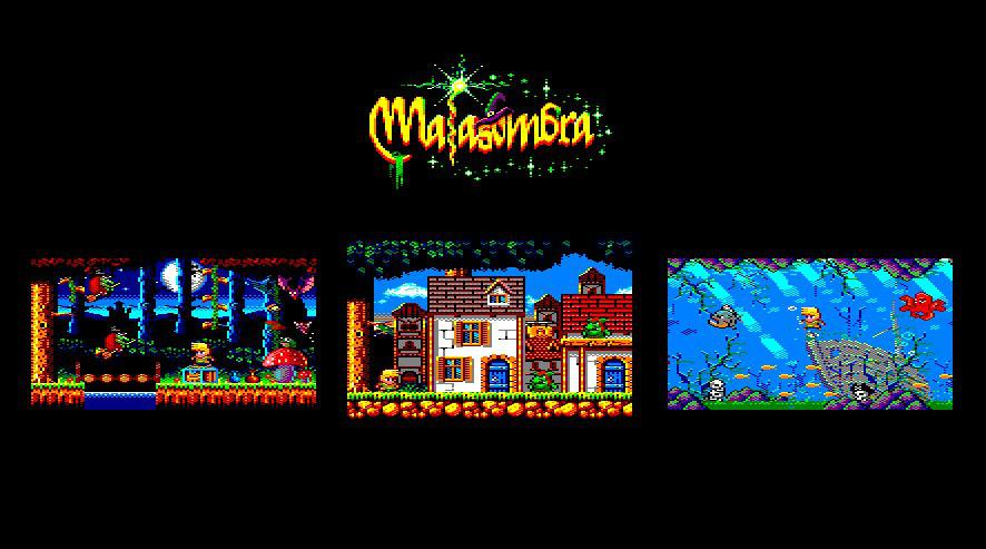 Malasombra, an Amstrad CPC game by 4mhz
