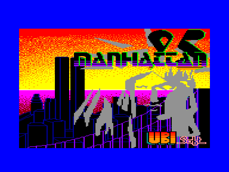 screenshot of the Amstrad CPC game Manhattan 95 by GameBase CPC