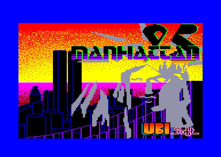 screenshot of the Amstrad CPC game Manhattan 95 Light by GameBase CPC