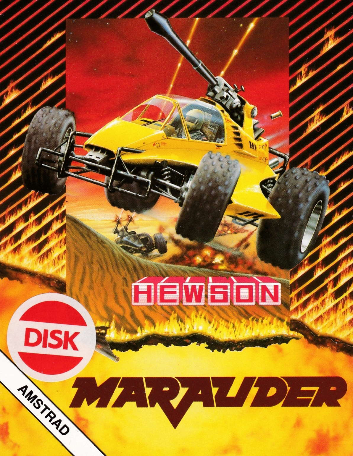 cover of the Amstrad CPC game Marauder  by GameBase CPC