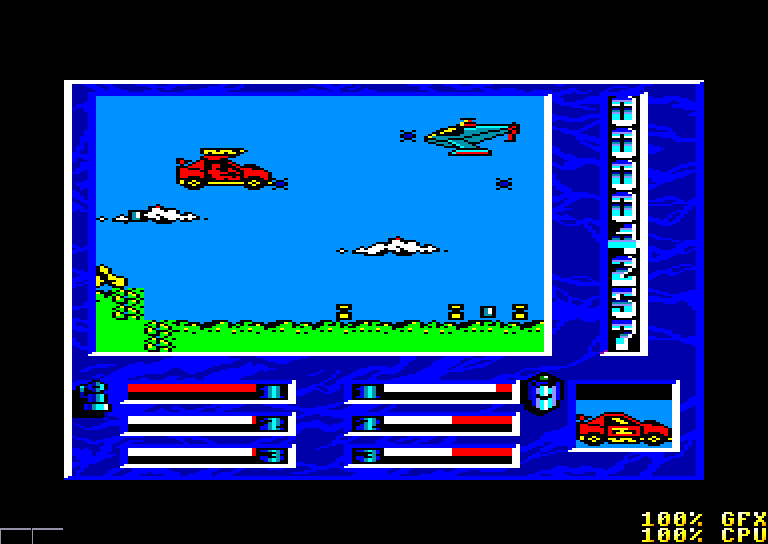 screenshot of the Amstrad CPC game Mask II by GameBase CPC