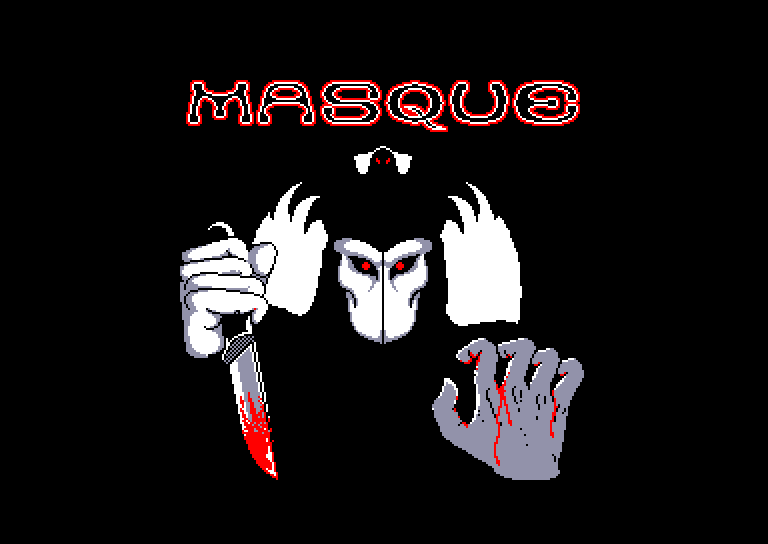 screenshot of the Amstrad CPC game Masque by GameBase CPC