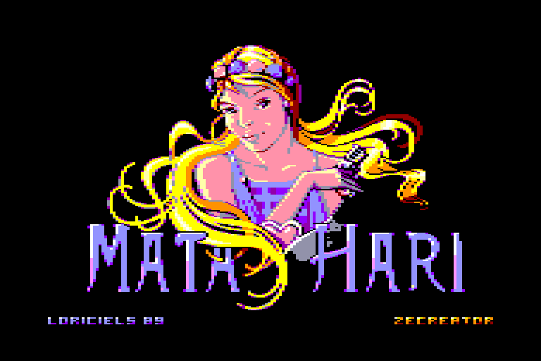 screenshot of the Amstrad CPC game Mata hari by GameBase CPC