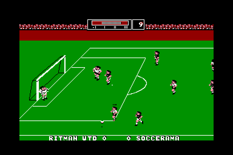 screenshot of the Amstrad CPC game Match Day II by GameBase CPC