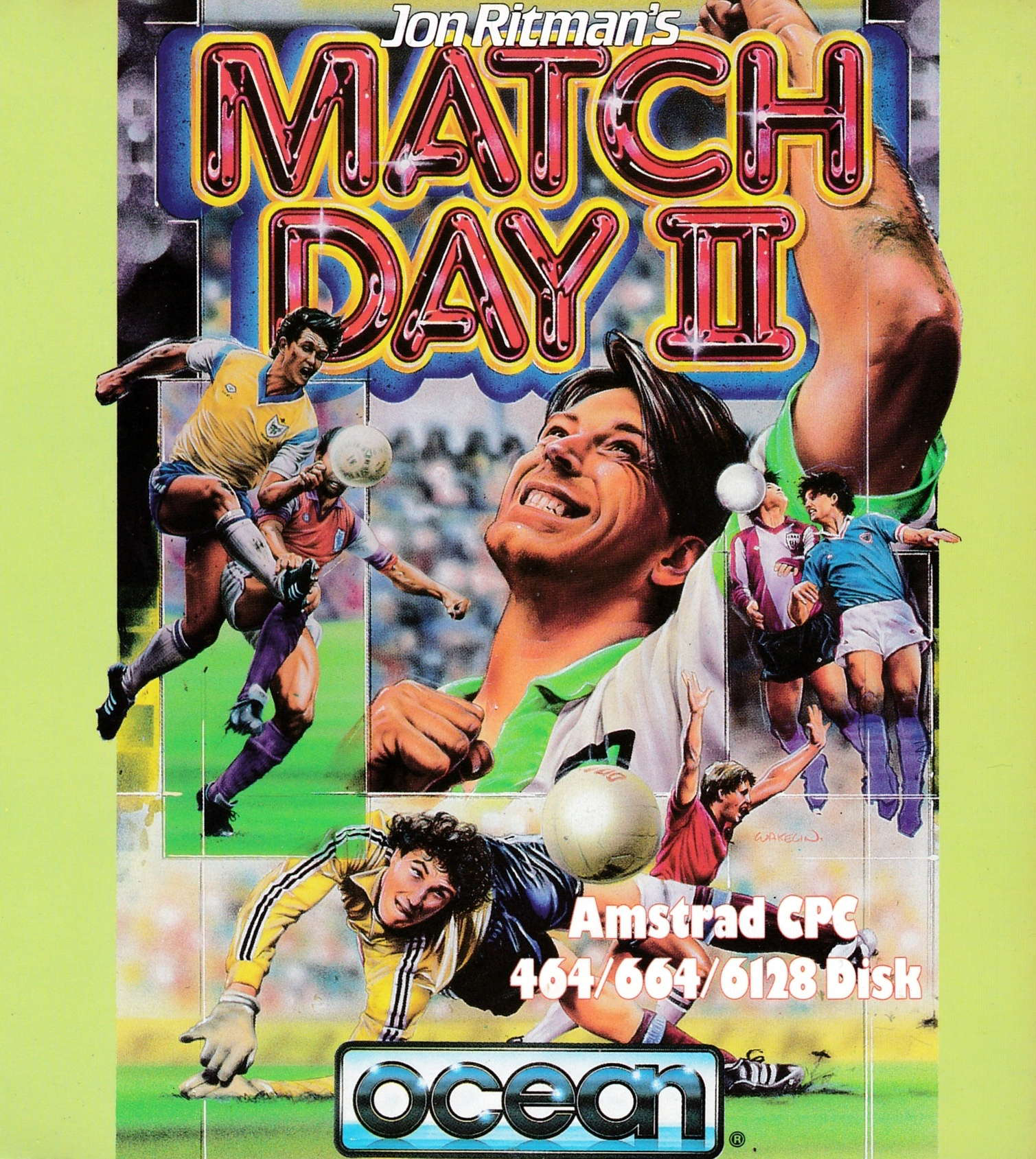 cover of the Amstrad CPC game Match Day II  by GameBase CPC