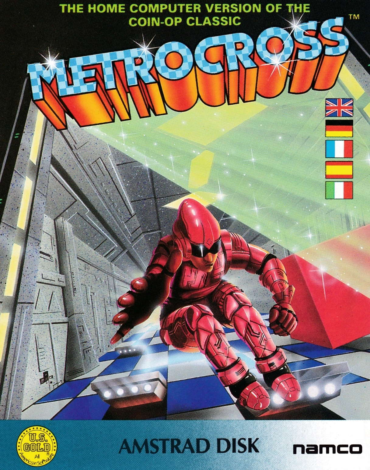 cover of the Amstrad CPC game Metro Cross  by GameBase CPC