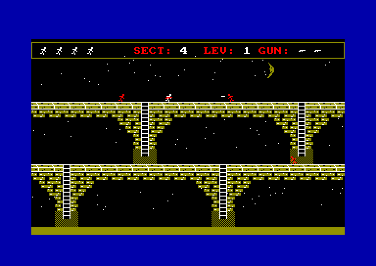 screenshot of the Amstrad CPC game Midnight express by GameBase CPC