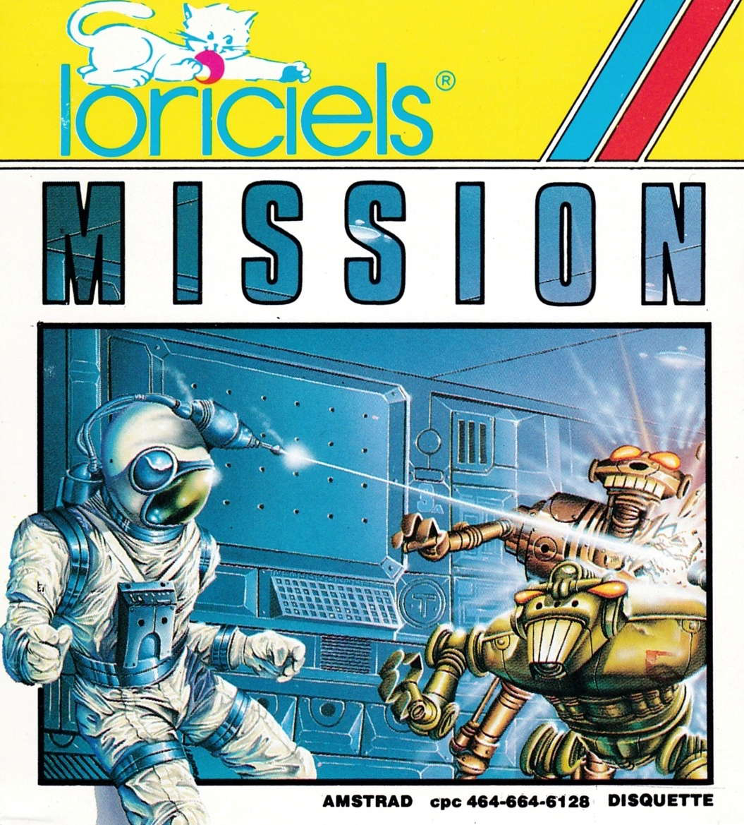 cover of the Amstrad CPC game Mission  by GameBase CPC