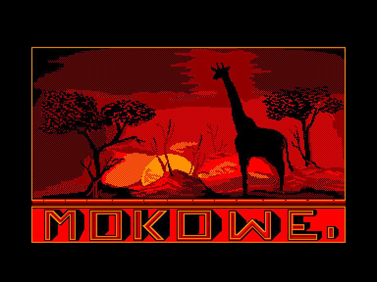 screenshot of the Amstrad CPC game Mokowe by GameBase CPC
