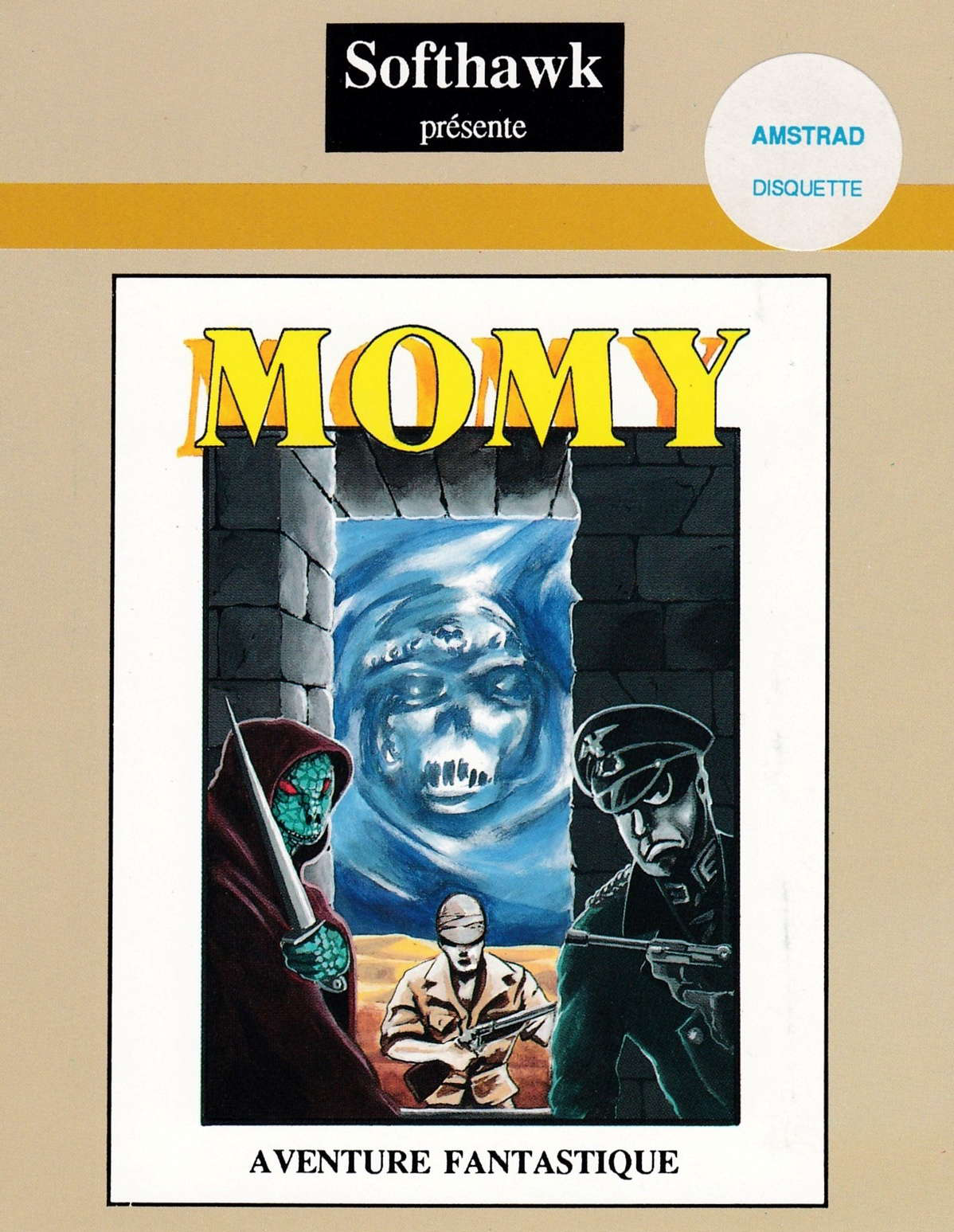 cover of the Amstrad CPC game Momy  by GameBase CPC