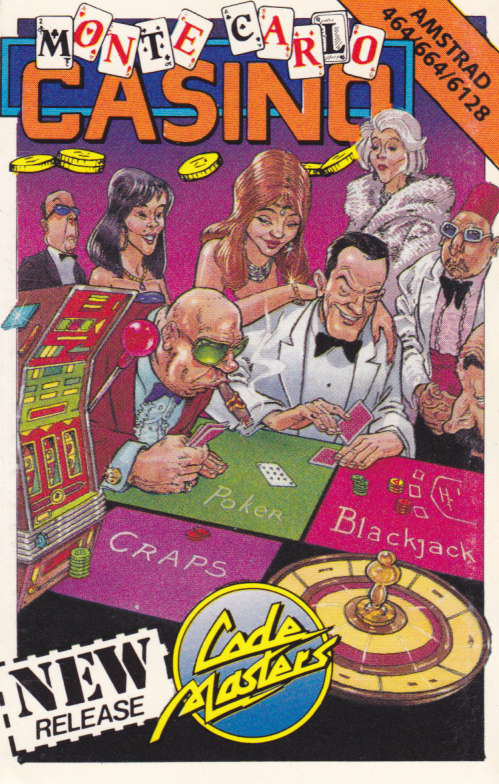 cover of the Amstrad CPC game Monte Carlo Casino  by GameBase CPC