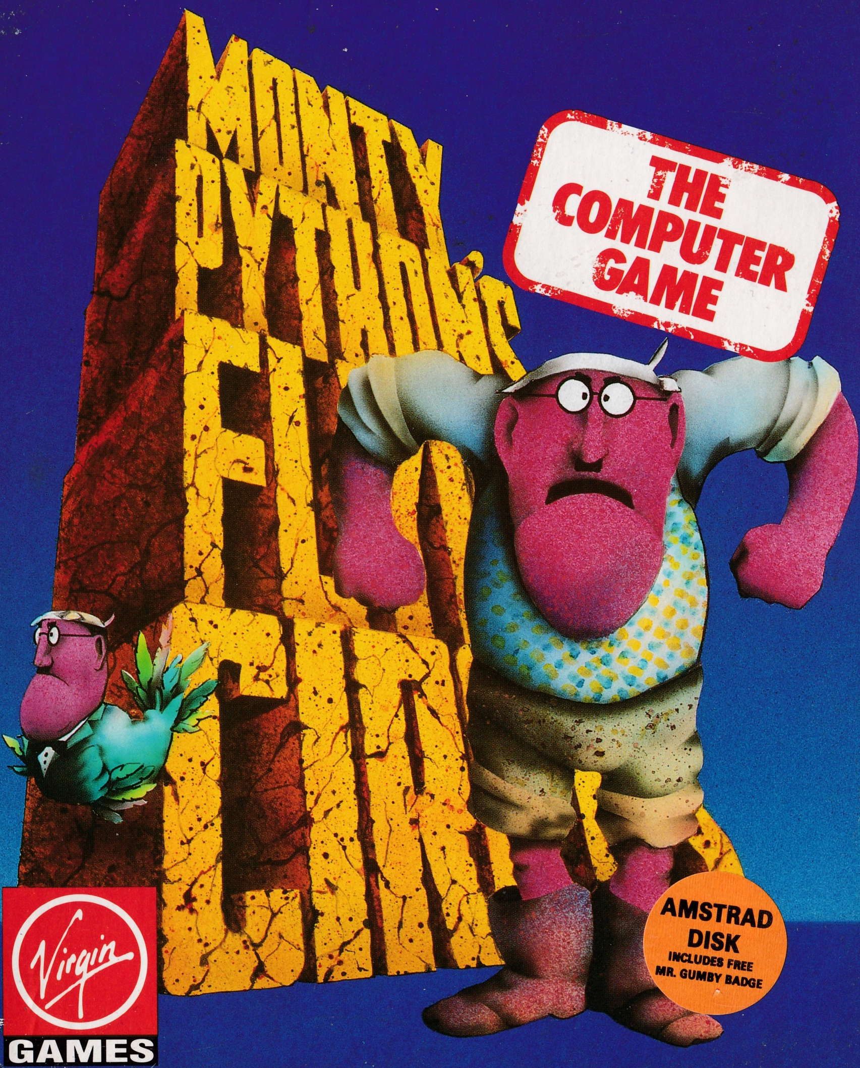 cover of the Amstrad CPC game Monty Python's Flying Circus  by GameBase CPC