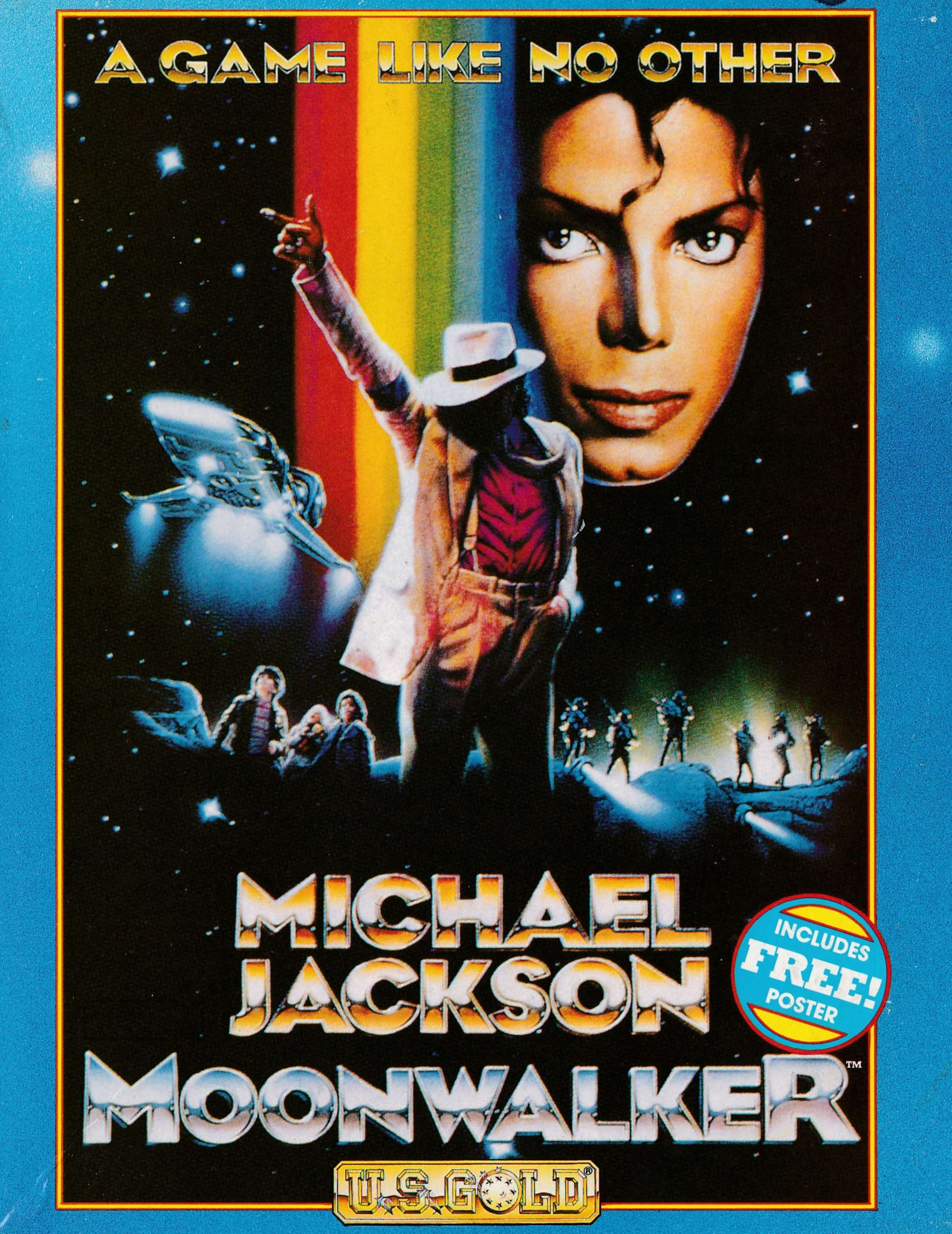cover of the Amstrad CPC game Moonwalker  by GameBase CPC
