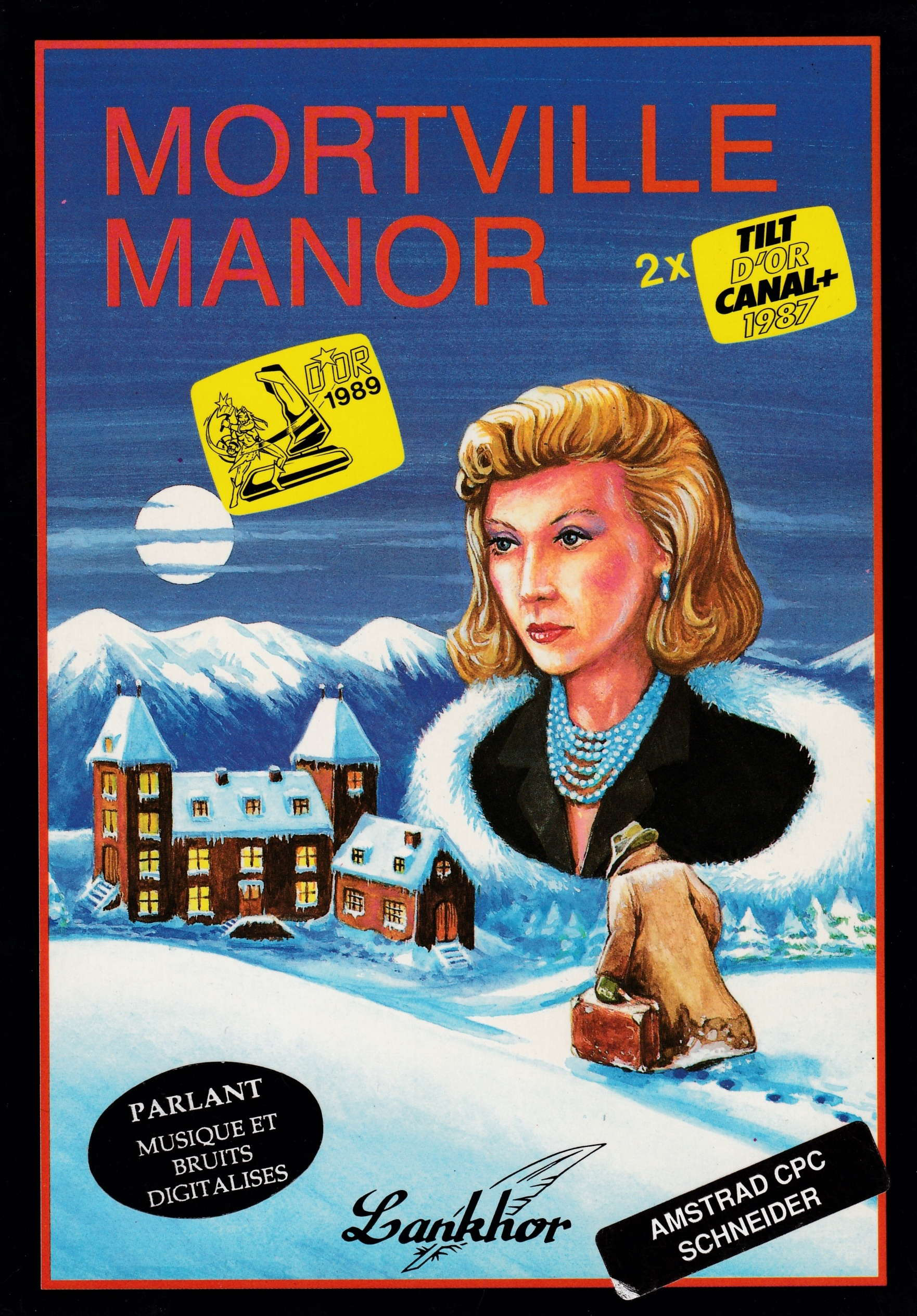 cover of the Amstrad CPC game Mortville Manor  by GameBase CPC