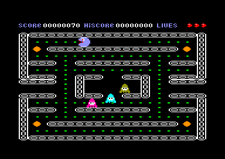 screenshot of the Amstrad CPC game Munch-It by GameBase CPC