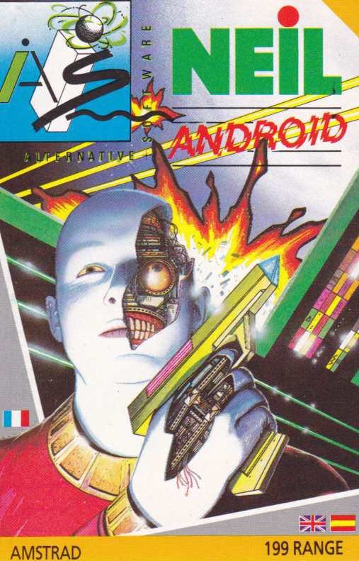 screenshot of the Amstrad CPC game Neil android by GameBase CPC