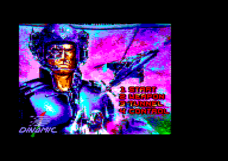screenshot of the Amstrad CPC game Narco police by GameBase CPC