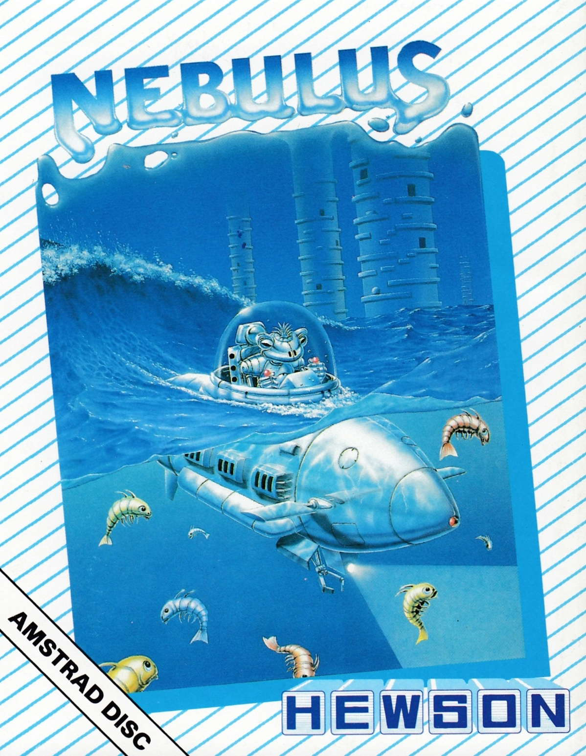 cover of the Amstrad CPC game Nebulus  by GameBase CPC