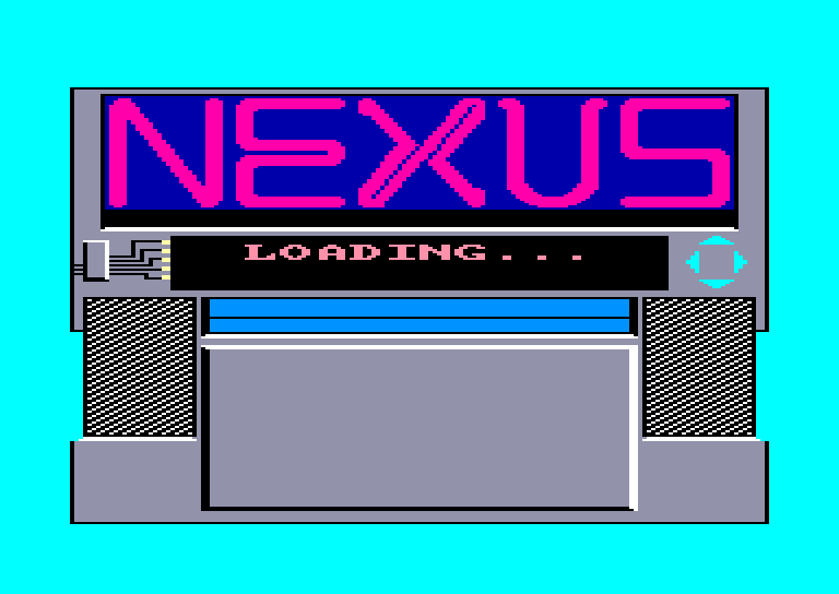 screenshot of the Amstrad CPC game Nexus by GameBase CPC