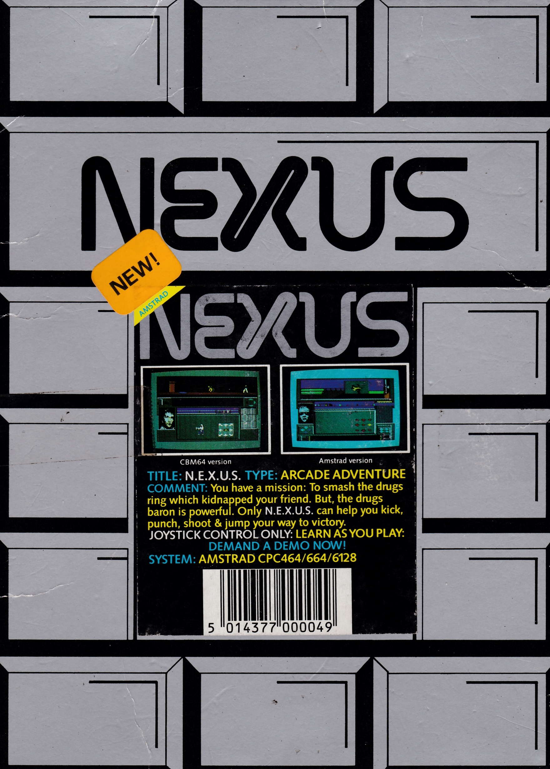 cover of the Amstrad CPC game Nexus  by GameBase CPC