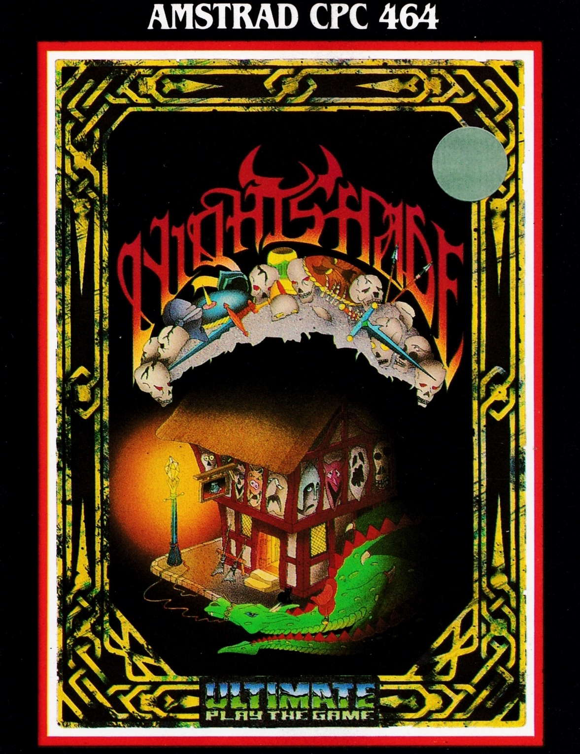 cover of the Amstrad CPC game Night Shade  by GameBase CPC