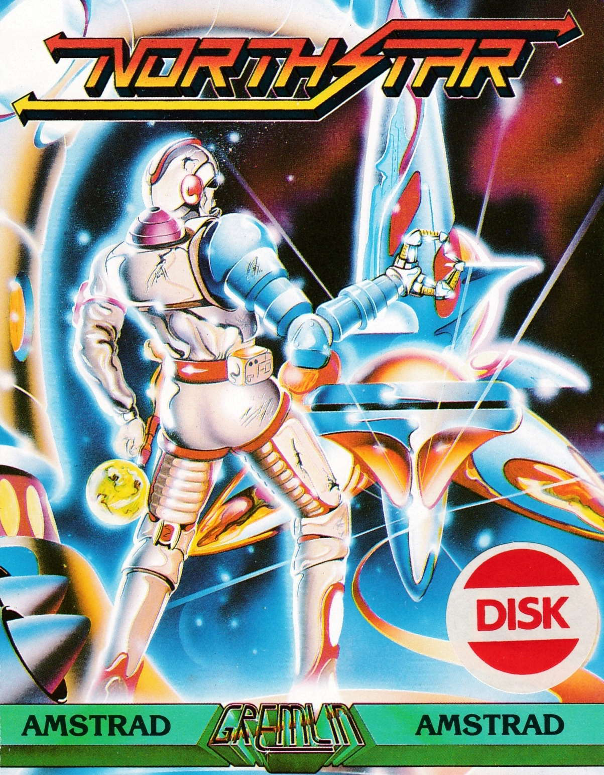 screenshot of the Amstrad CPC game North star by GameBase CPC